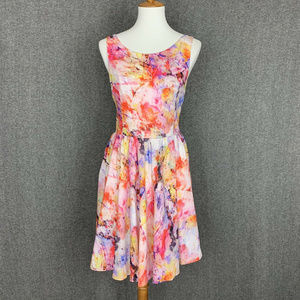 Betsey Johnson Sleeveless Fit & Flare Dress 10
